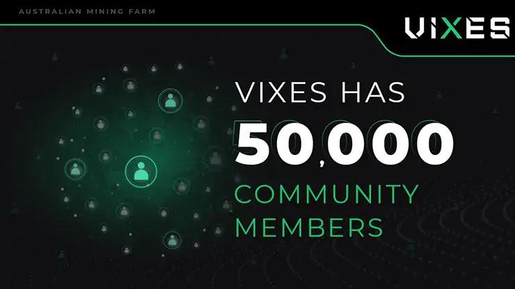 Рост проекта Vixes