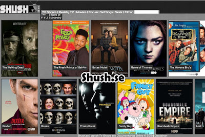 Shush.se - Watch tv shows online for free