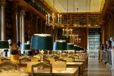 Perpustakaan Bersejarah & Keren di Paris