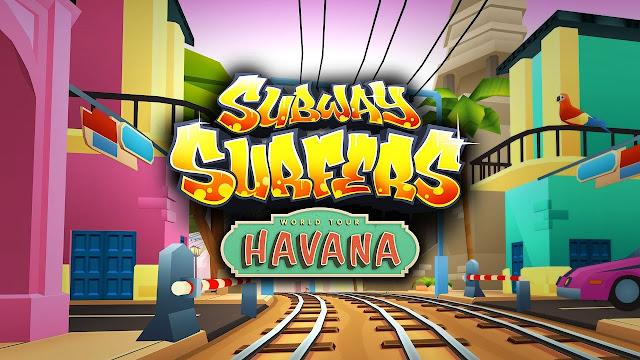 Subway Surfers Havana v1.61.0 Apk Mod [monedas / llaves]