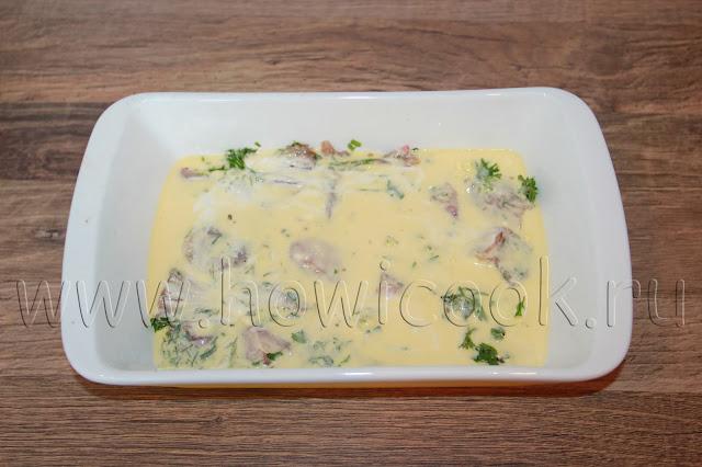 рецепт запеканки с курицей и помидорами с пошаговыми фото