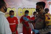 Tiga Kurir Sabu Asal Sukoharjo Diamankan Polisi di Purbalingga