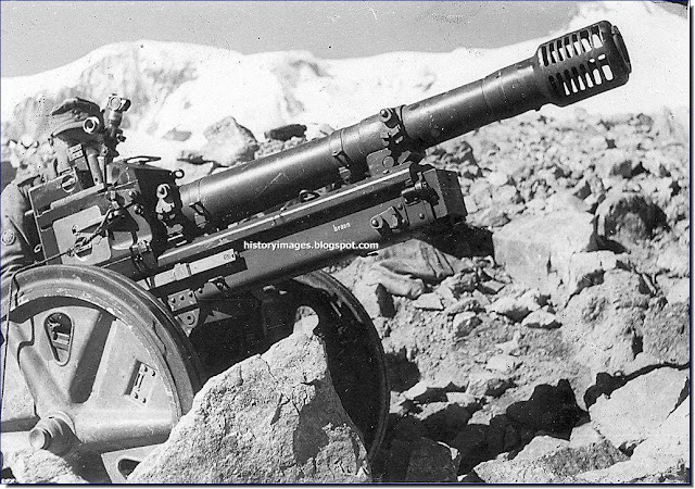 German 75-mm cannon Geb.G.36 mountain  Caucasus