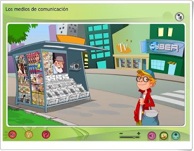 Los medios de comunicación Xunta de Galicia 3º a 6º de Educación Primaria