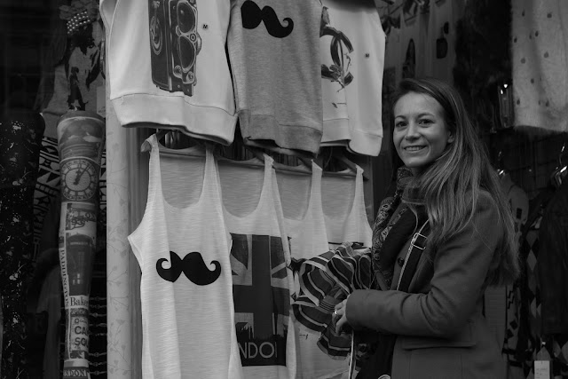 cool t´shirts at portobello market