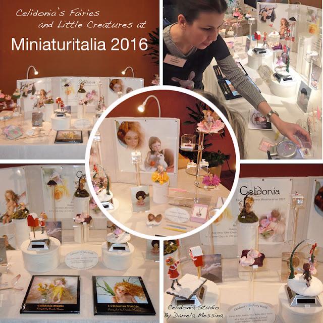 Miniaturitalia 2016 - Fiera di Miniature, ooak Art Doll e Case di Bambola - Celidonia