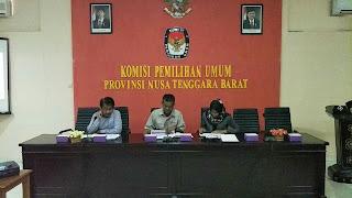 <b>KPU NTB Gelar Rakor Usul Penataan Dapil</b>