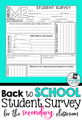 Free Back-to-School Student Survey