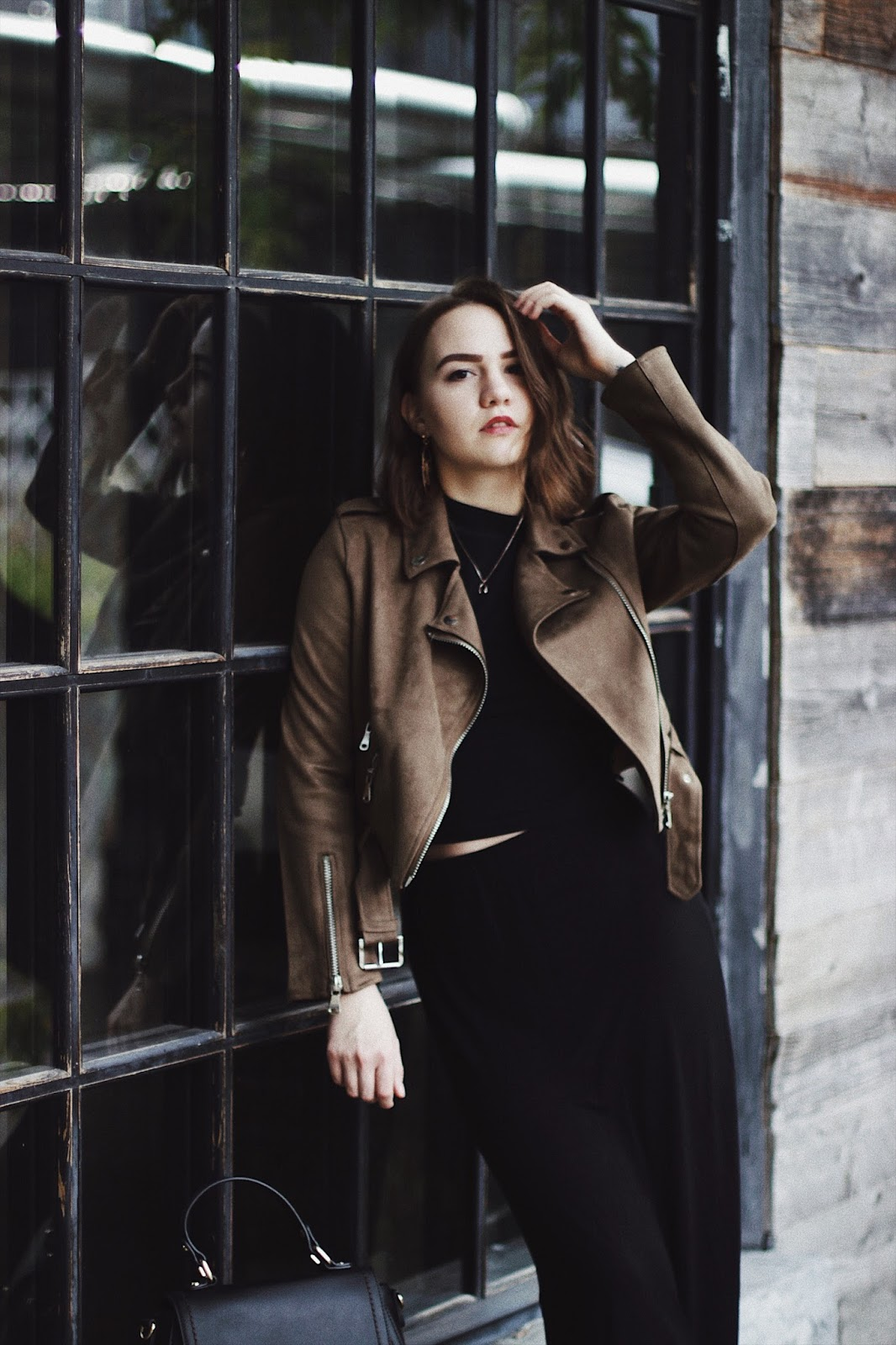 Suede Jacket | Fashion Blogger