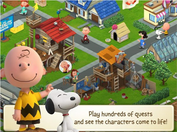 Peanuts: Snoopy's Town Tale v2.5.6 MOD Apk [Unlimited Money)