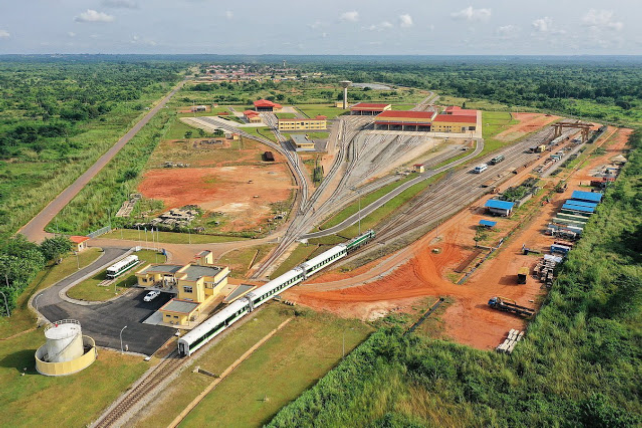 You can now Travel with Train from Warri, Sapele, Kogi State to Esanland