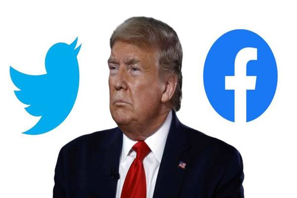 تويتر و فيسبوك تتخذان إجراءات صارمة ضد المتنمرين على مرض الرئيس الأمريكي