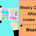 Weekly Current Affairs October 2018 - Week IV