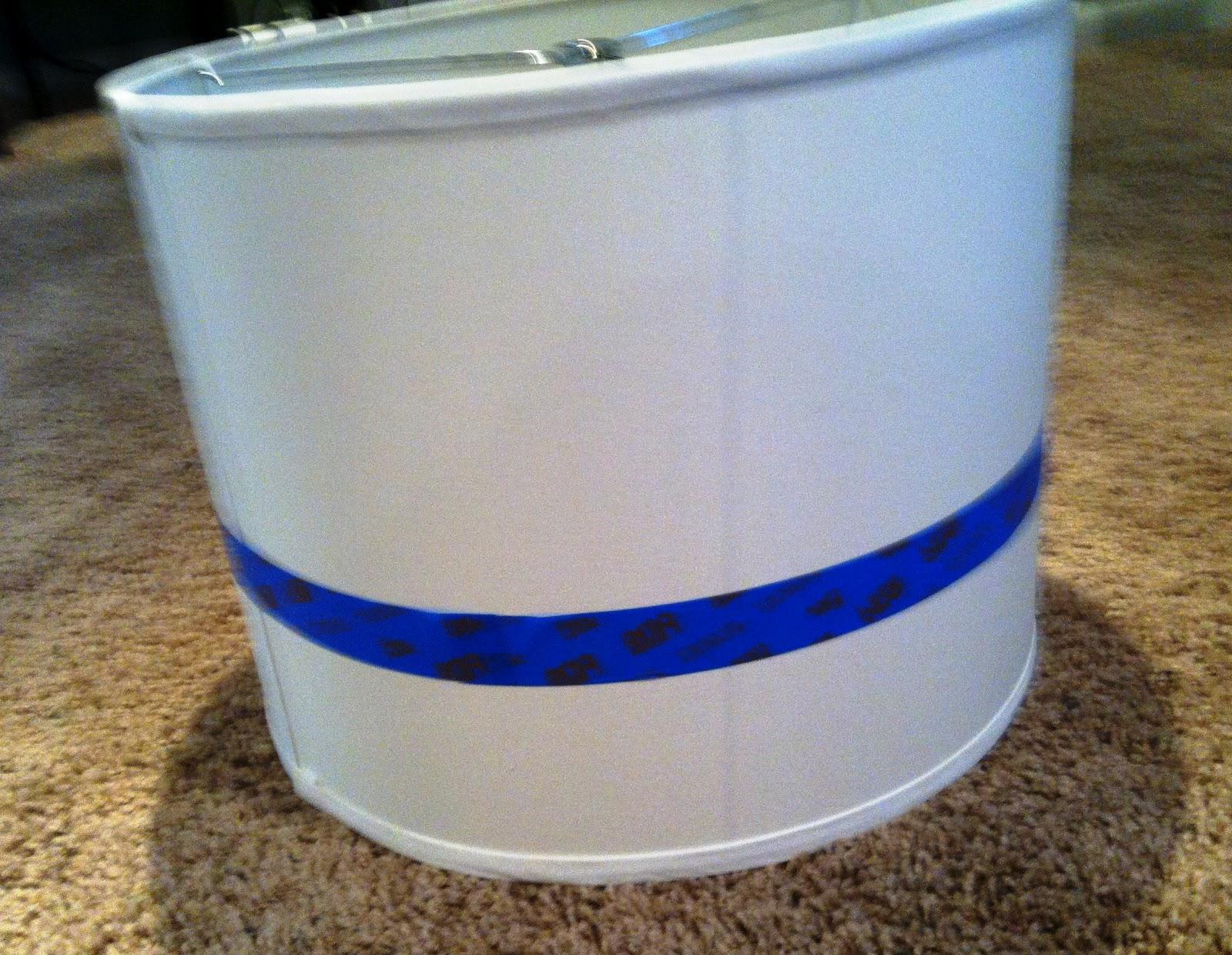 DIY: Chevron Lamp Shade | Six2Eleven