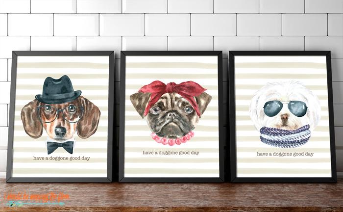 Free Dog Printables