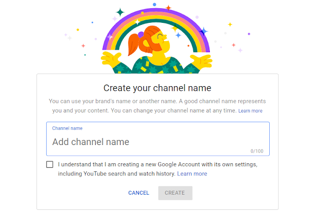create a channel name