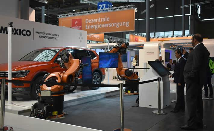 La industria 4.0, tema destacado en el Main Forum. (Foto: Vanguardia Industrial)