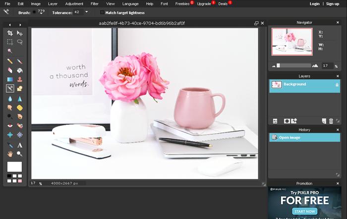 Pixlr - alternativa gratuita ao Photoshop que é fácil de usar!