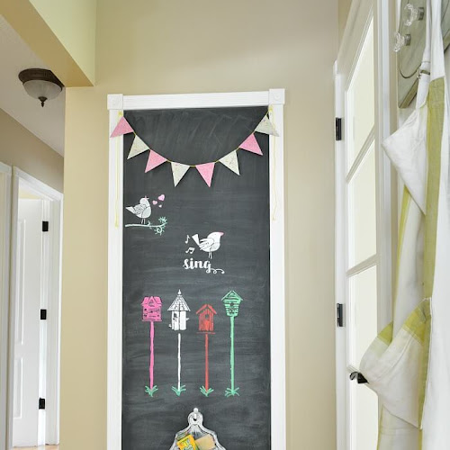 5 Simple Steps To Make A Chalkboard Wall
