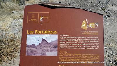 Cartel en La Fortaleza