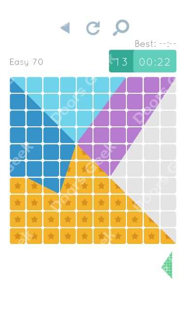 Cheats, Walkthrough for Blocks and Shapes Level 70