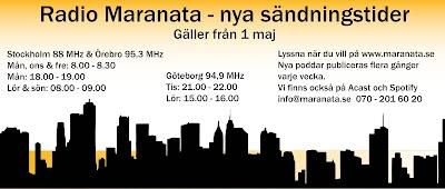 Nya tider för Radio Maranata