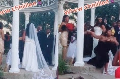 Viral, Mantan Pacar Datang dengan Perut Besar, Pernikahan Jadi Berantakan