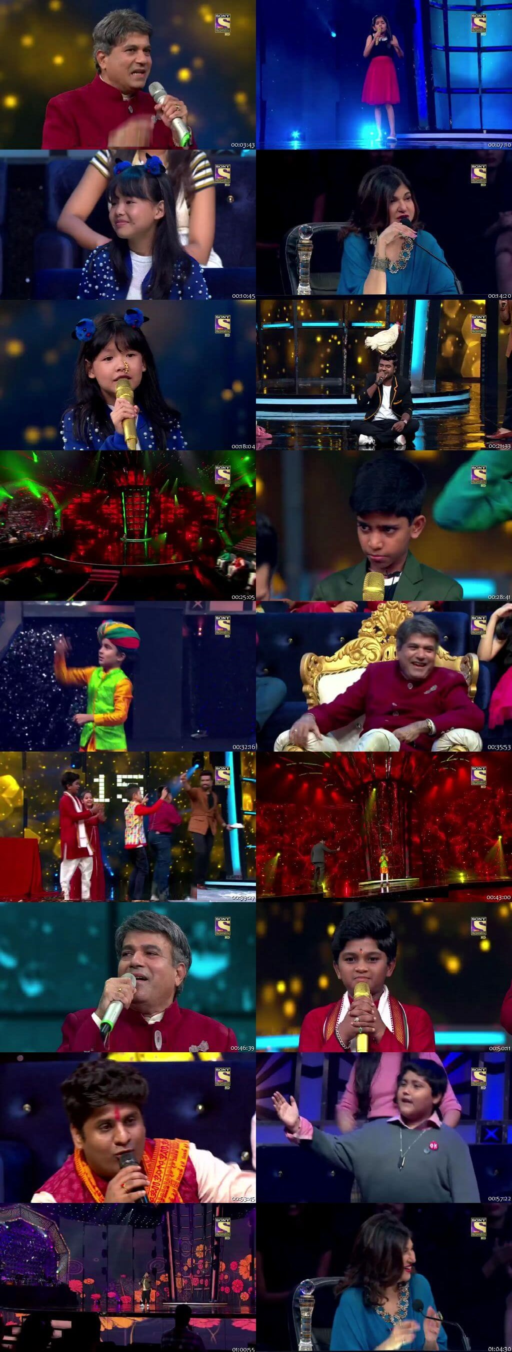 Screenshots Of Hindi Show Superstar Singer 11th August 2019 Episode 14 300MB 480P HD
