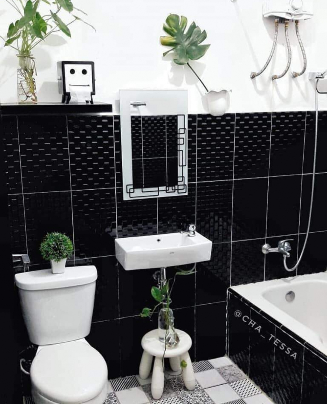 Dekorasi Toilet Kecik Tapi Cantik