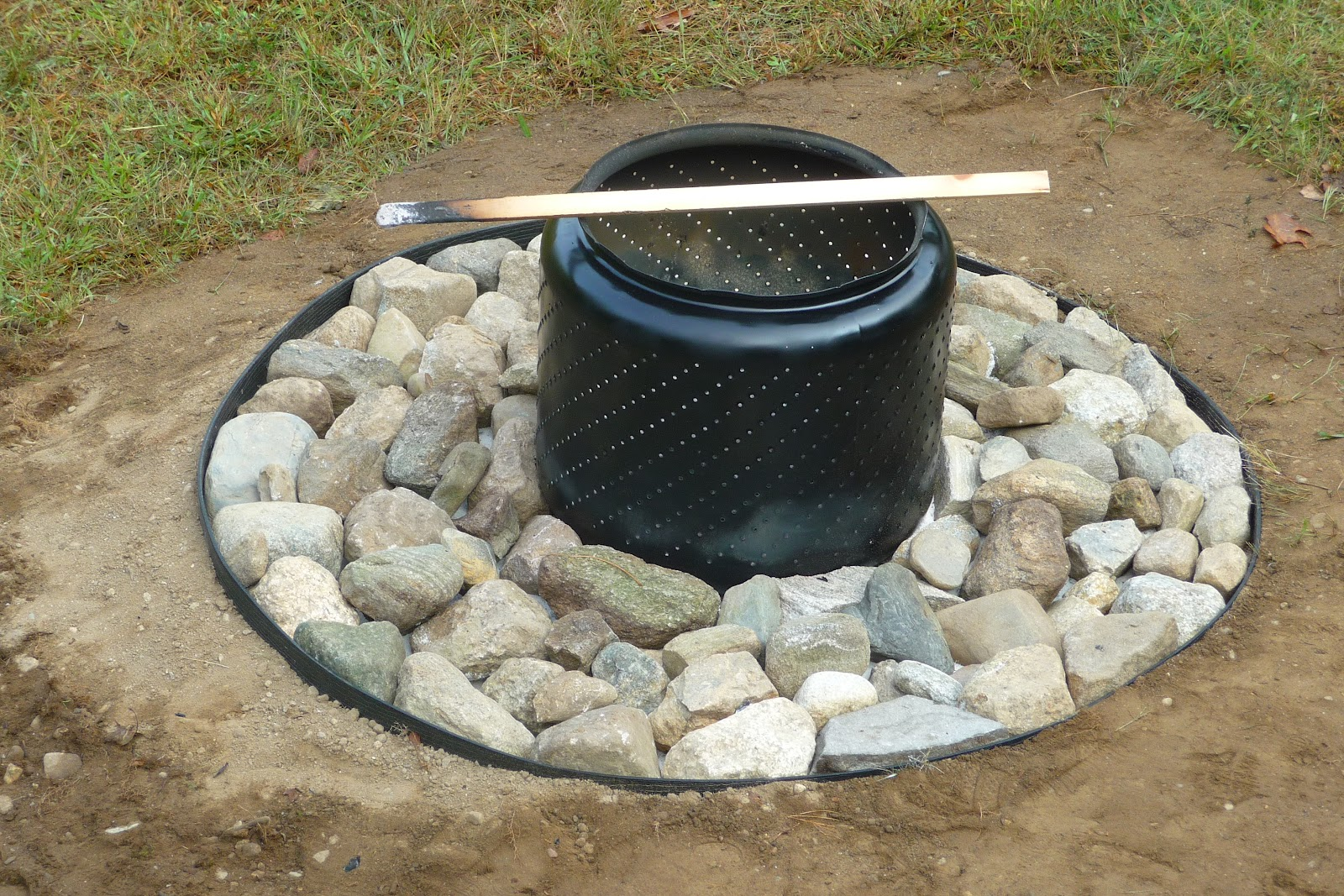 this sixties' house: Washing Machine Fire Pit