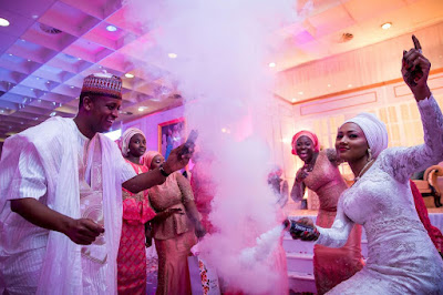 pictures from zahra buhari wedding