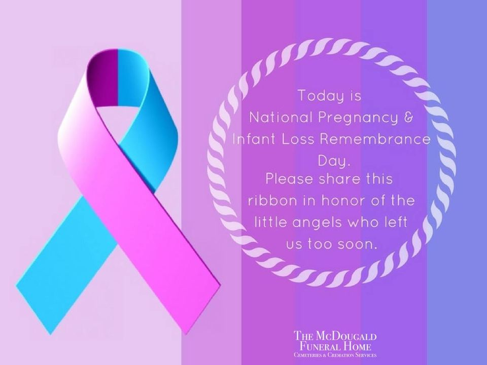 National Pregnancy and Infant Loss Remembrance Day Wishes Images