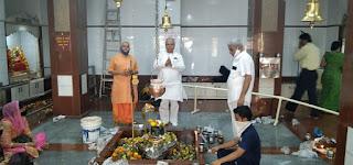 भायंदर के काशी विश्वनाथ मंदिर में भक्तों ने की शिव पूजा | #NayaSaberaNetwork