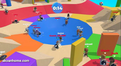 تحميل لعبة Fall Dudes 3D APK مجانا للاندرويد برابط مباشر