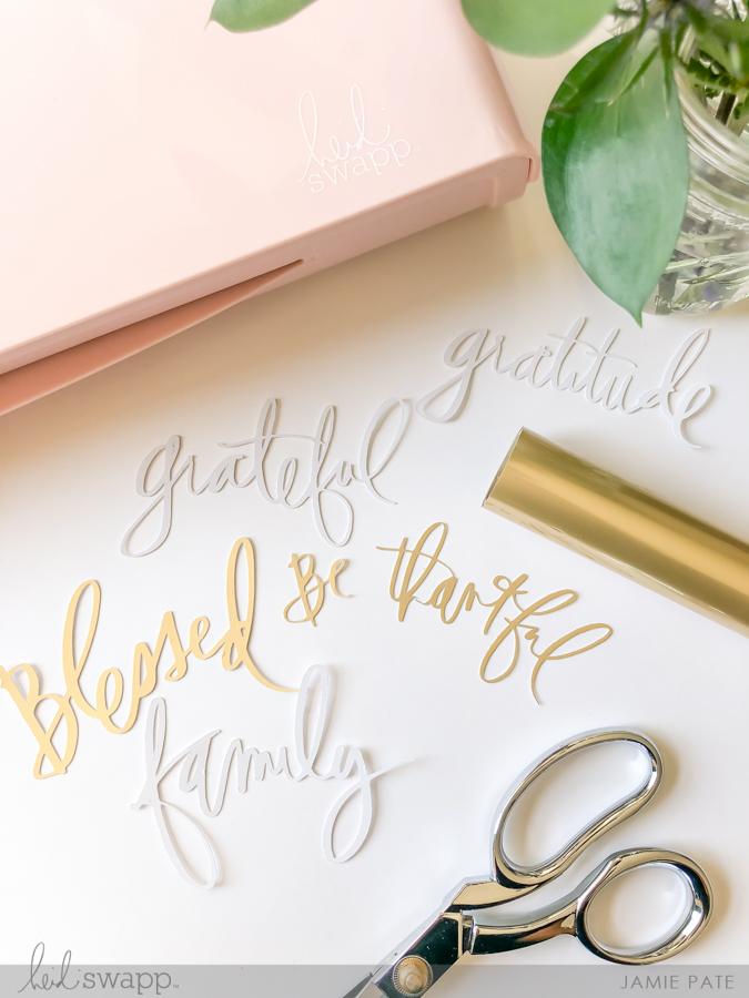 Using My Favorite Heidi Swapp Minc Medium: Glue Pages