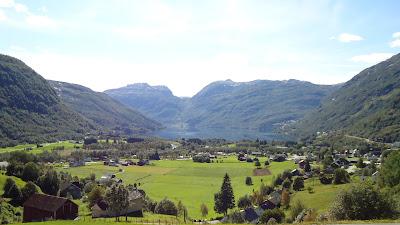 Imagen del valle de Ryfylke