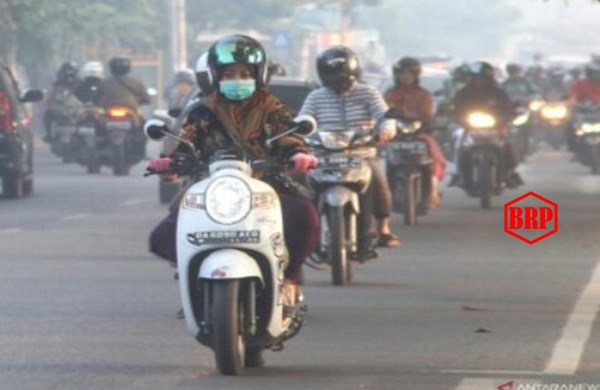 Banjarmasin dan Banjarbaru Tertutup Asap Pekat