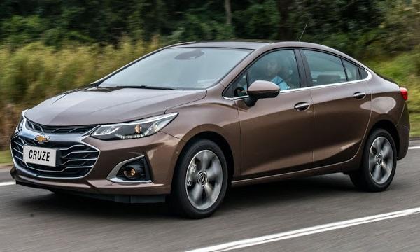 Ficha Técnica Chevrolet Cruze Sedán 2020