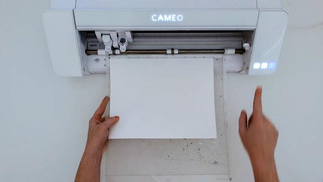 paper crafts, silhouette CAMEO beginners, paper card, beginner tutorials, cardstock