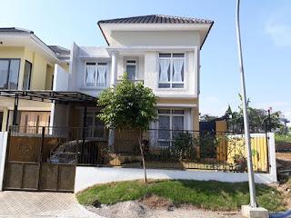 Rp 85 jt 1 / thn Disewakan Furnis Rumah Di Cluster Santorini Sentul City View G.Pancar ( CODE 497 )