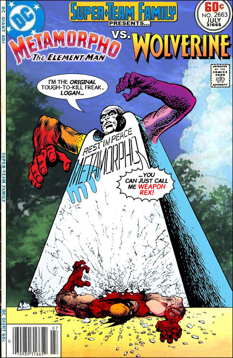 dd774c53520 Super-Team Family: The Lost Issues!: Metamorpho Vs. Wolverine