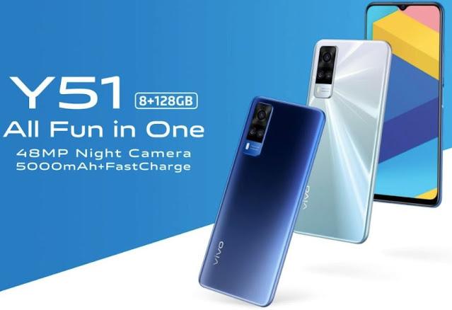 سعر ومواصفات هاتف Vivo Y51