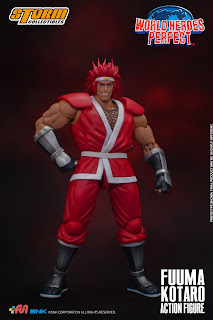 Fuuma Kotaro de World Heroes Perfect, Storm Collectibles