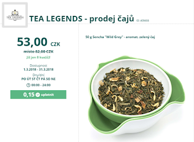 detailní zobrazení Shopping Point Deal od Tea Legends (Lyoness / Cashback World)