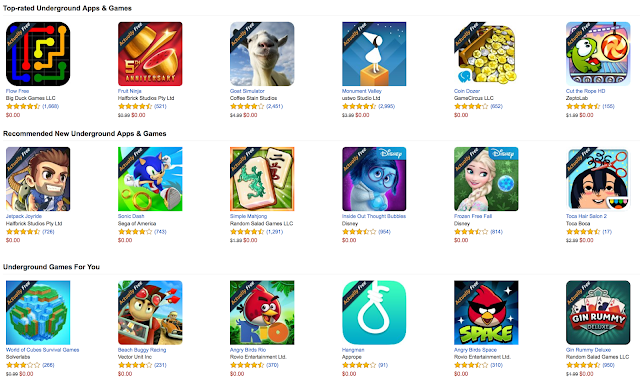 Amazon Appstore Free Apps including Free In App Purchases