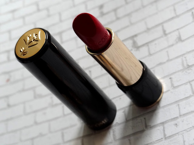 Lancome's L'Absolu Rouge Lipsticks  Review, Photos, Swatches