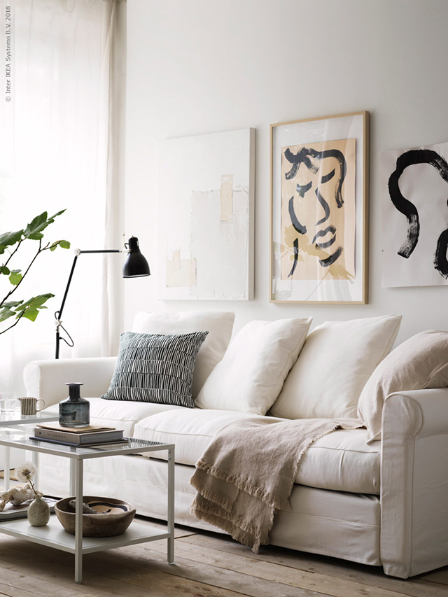T D C Relaxed And Playful Living Room Style