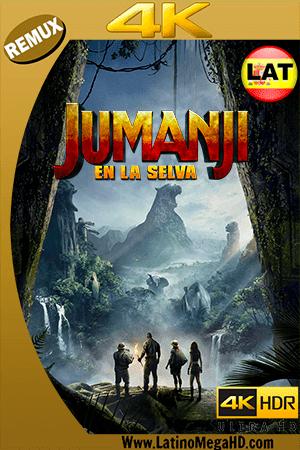 Jumanji: En la Selva (2017) Latino Ultra HD BDREMUX 2160P ()