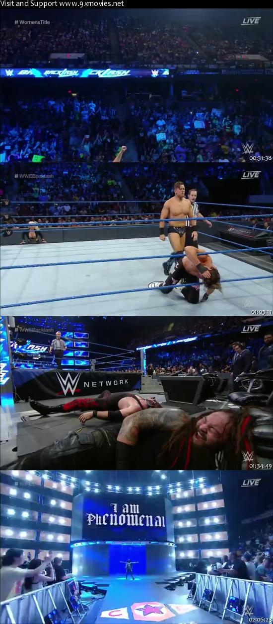 WWE Backlash 2016 PPV WEBRip 480p