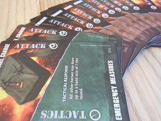 Fireteam Zero action cards